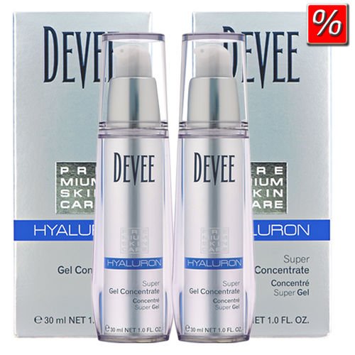 Devee Hyaluron Gel 2x30ml im Sparset